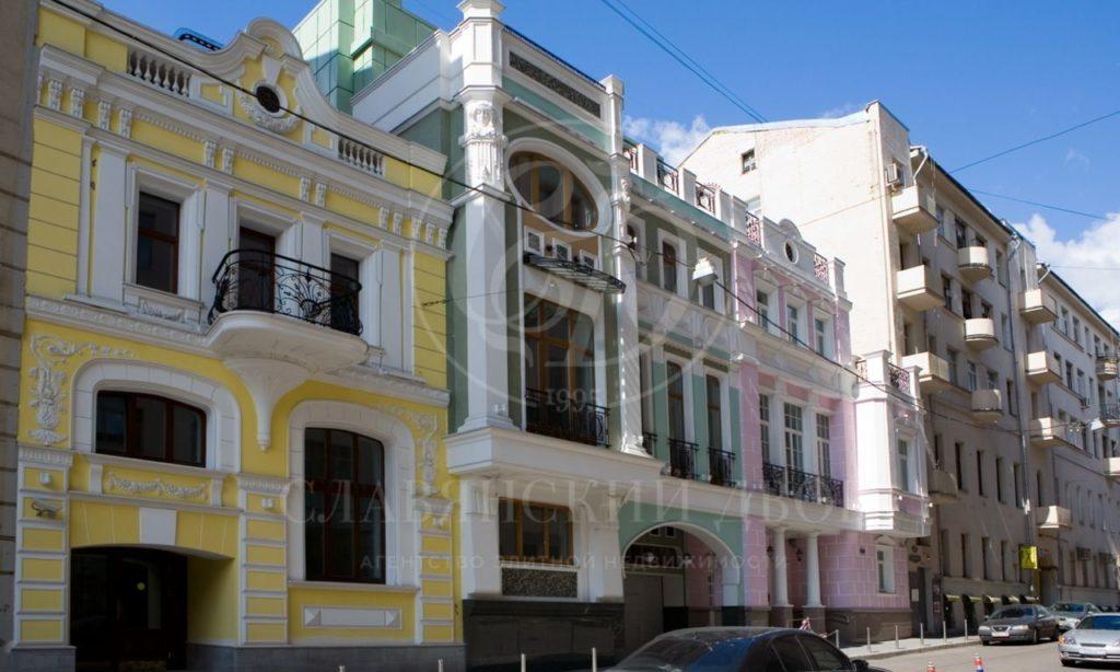 Комплекс особняков представительского класса на Остоженке: продажа