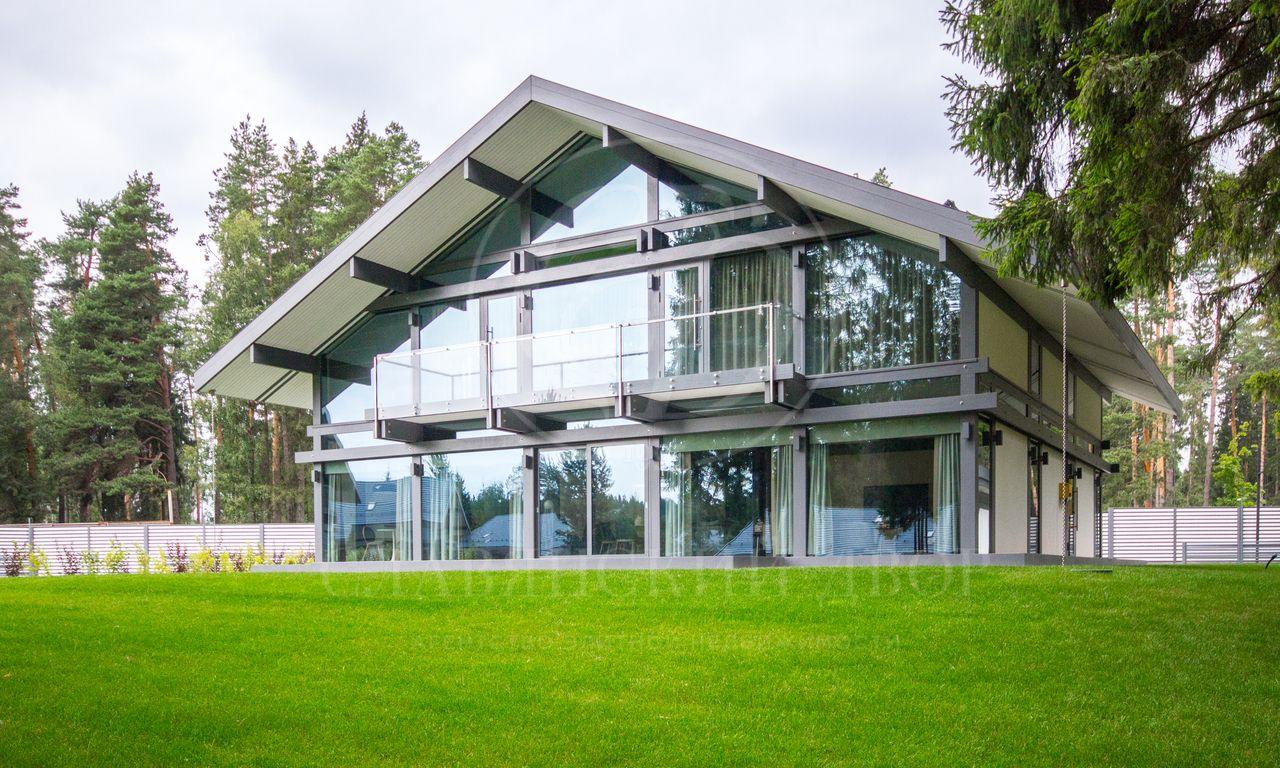 Просторный дом по немецкой технологии строительства