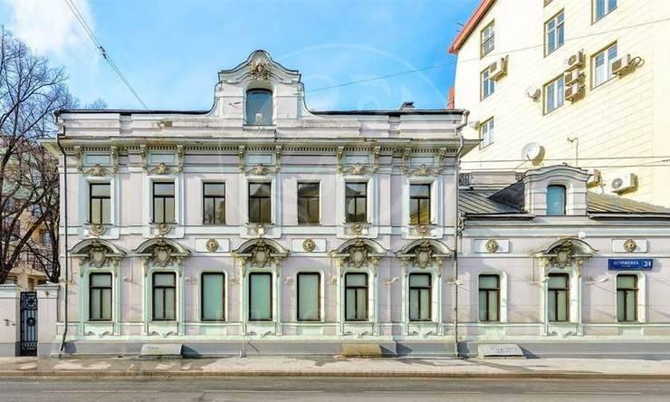 Аренда эксклюзивной резиденции на Остоженке