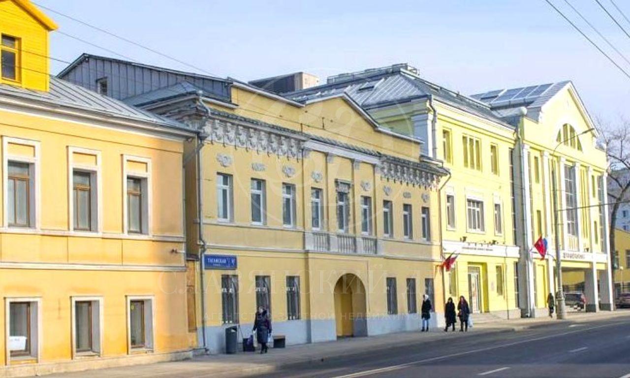 Продажа здания вцентральной районе Москвы
