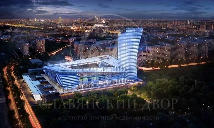 Аренда офисов вновом Бизнес-Центре. м.Аэропорт
