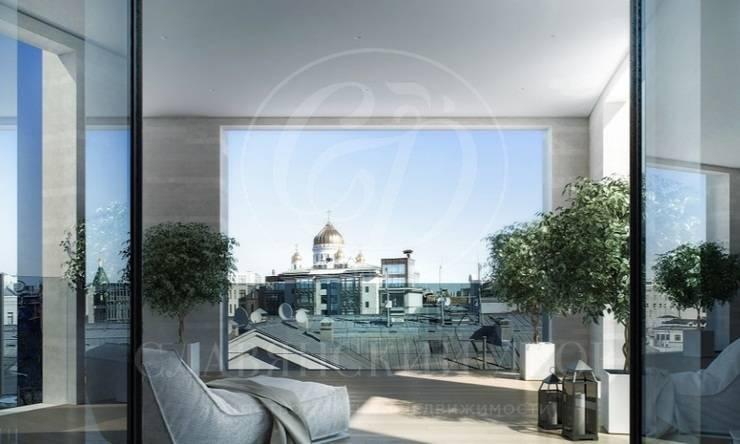 Апартаменты сотделкой вКлубном Доме «Набоков»