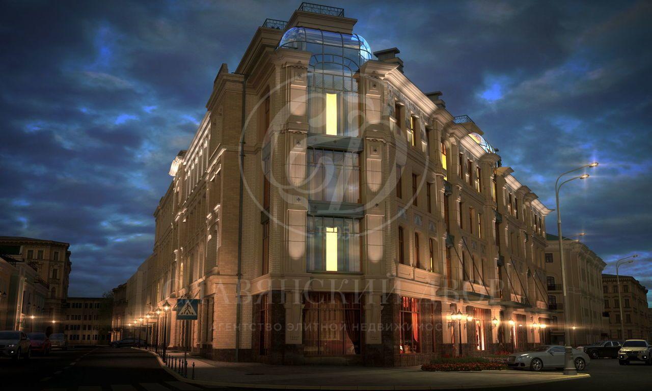 Продажа двухуровневого апартамента стеррасой  вКлубном доме «Mon Cher»
