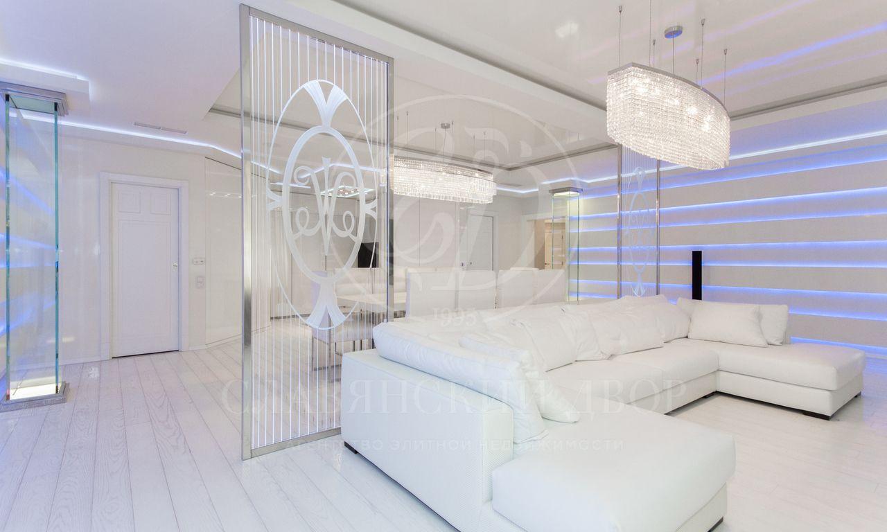 Эксклюзивная дизайнерская квартира вЖК «Новопесковский»
