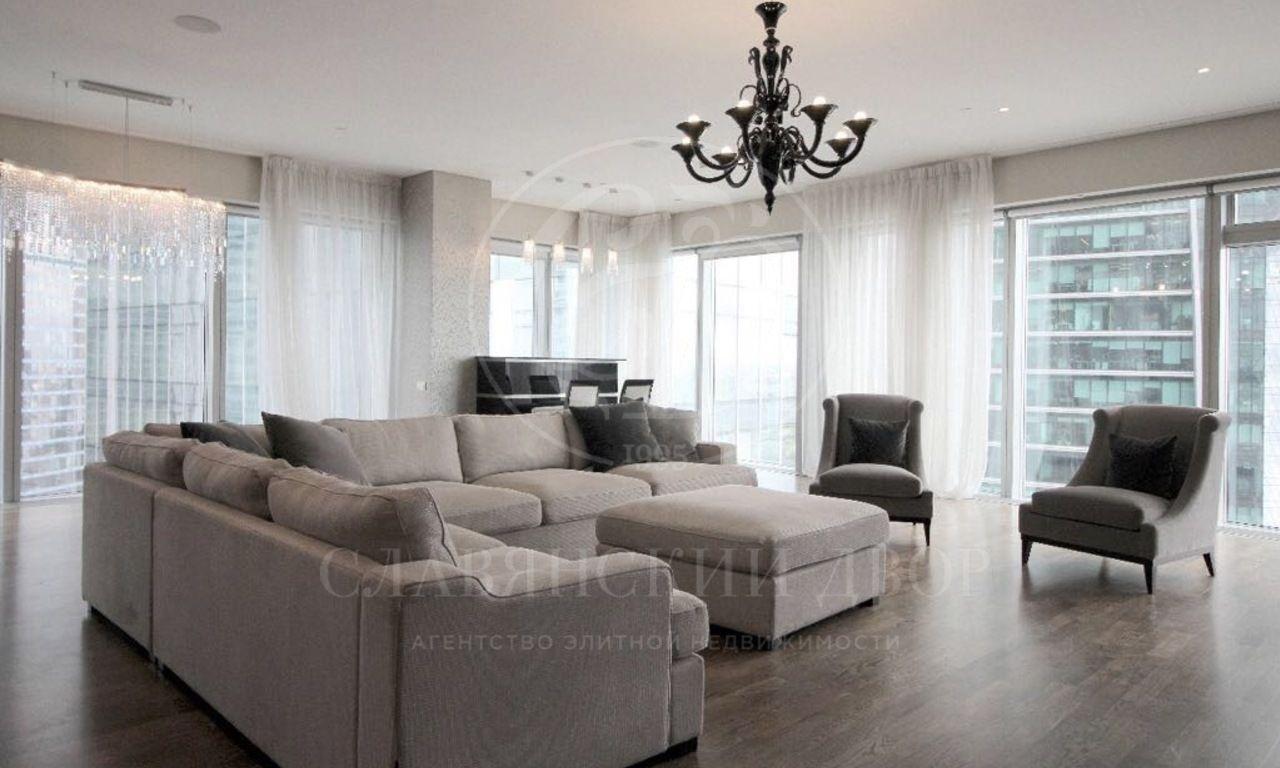 Дизайнерский апартамент вМосква-Сити