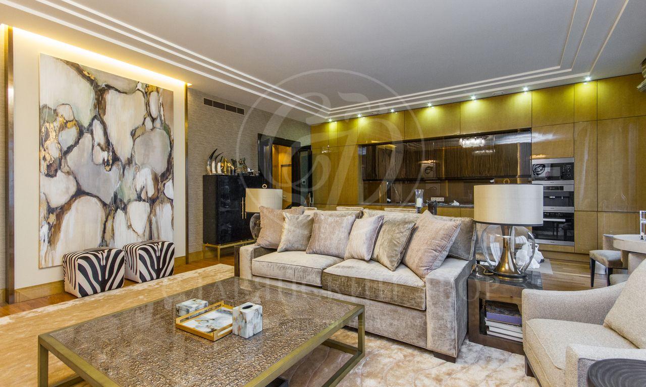 Шикарная квартира сэксклюзивным дизайн-проектом вэлитном ЖК «Литератор» вХамовниках
