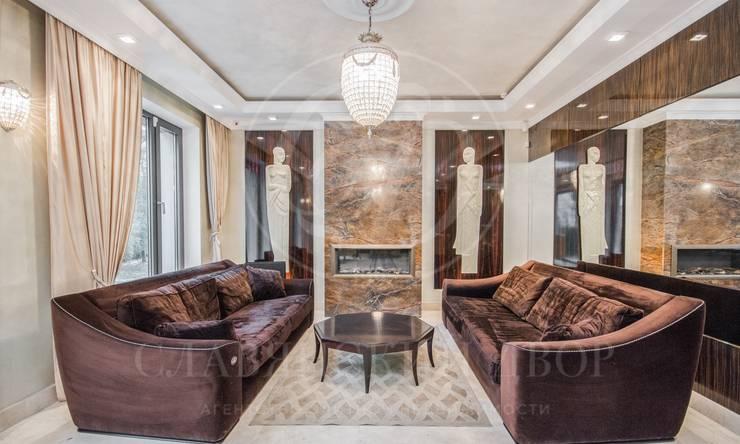 На продажу предлагается 3-хэтажный дом сдизайнерским ремонтом общей площадью 500 м2