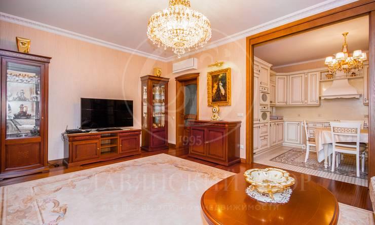Предлагается трехкомнатная квартира вЖК «Золотые ключи»