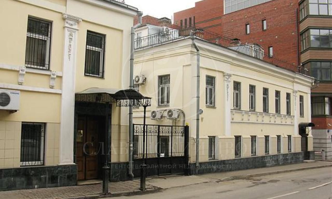 Аренда представительского особняка на Остоженке
