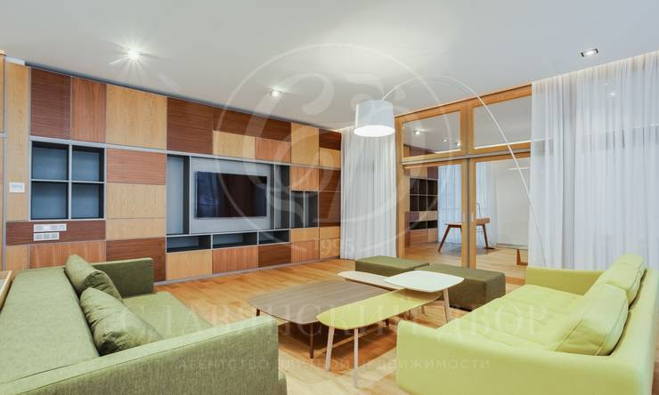 Роскошная 5-комнатная квартира вклубном доме на Смоленском бульваре