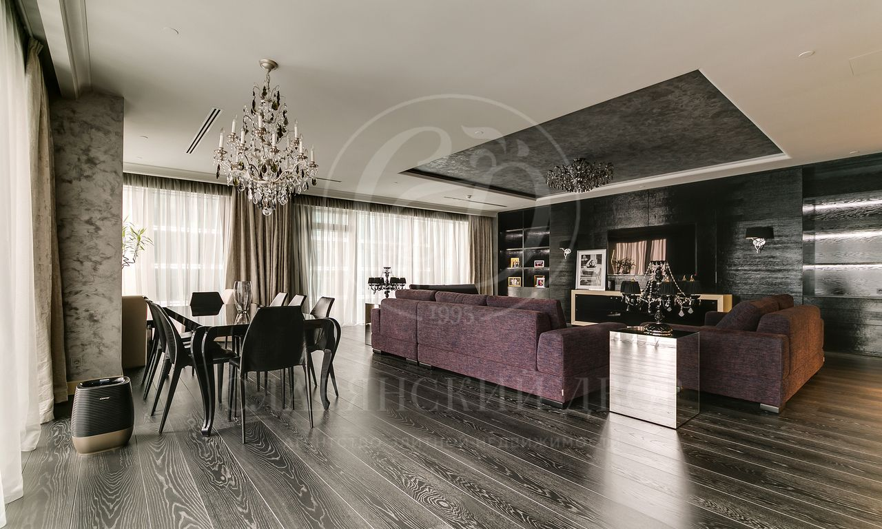 Апартаменты вМосква Сити от европейского дизайнера