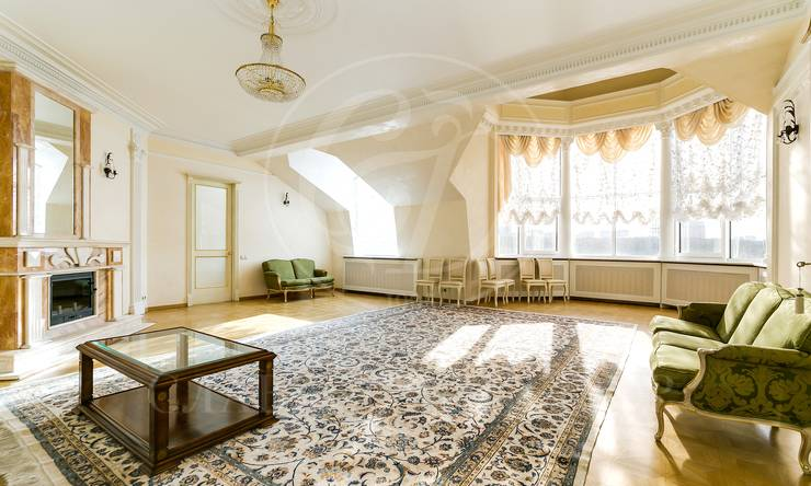 Прекрасная двухуровневая квартира вклубном доме ЖК «Золотые ключи 1«