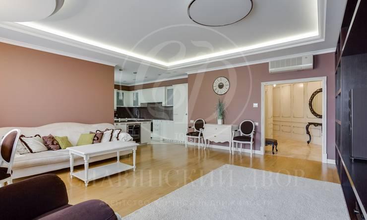 Элегантная квартира всовременной классике