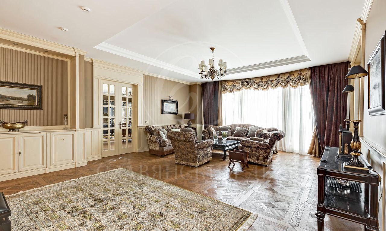 Эксклюзивная квартира встатусном доме