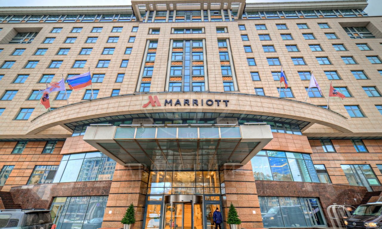 Двухуровневый пентхаус в «Marriot»