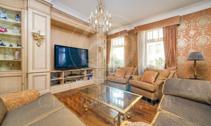 Классическая резиденция всамом сердце Москвы