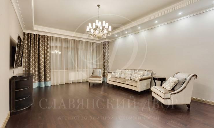Стильная квартира влегендарном ЖК»Дом на Трубецкой»