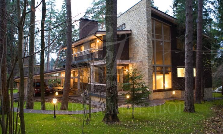 Стильный дом вЖуковке