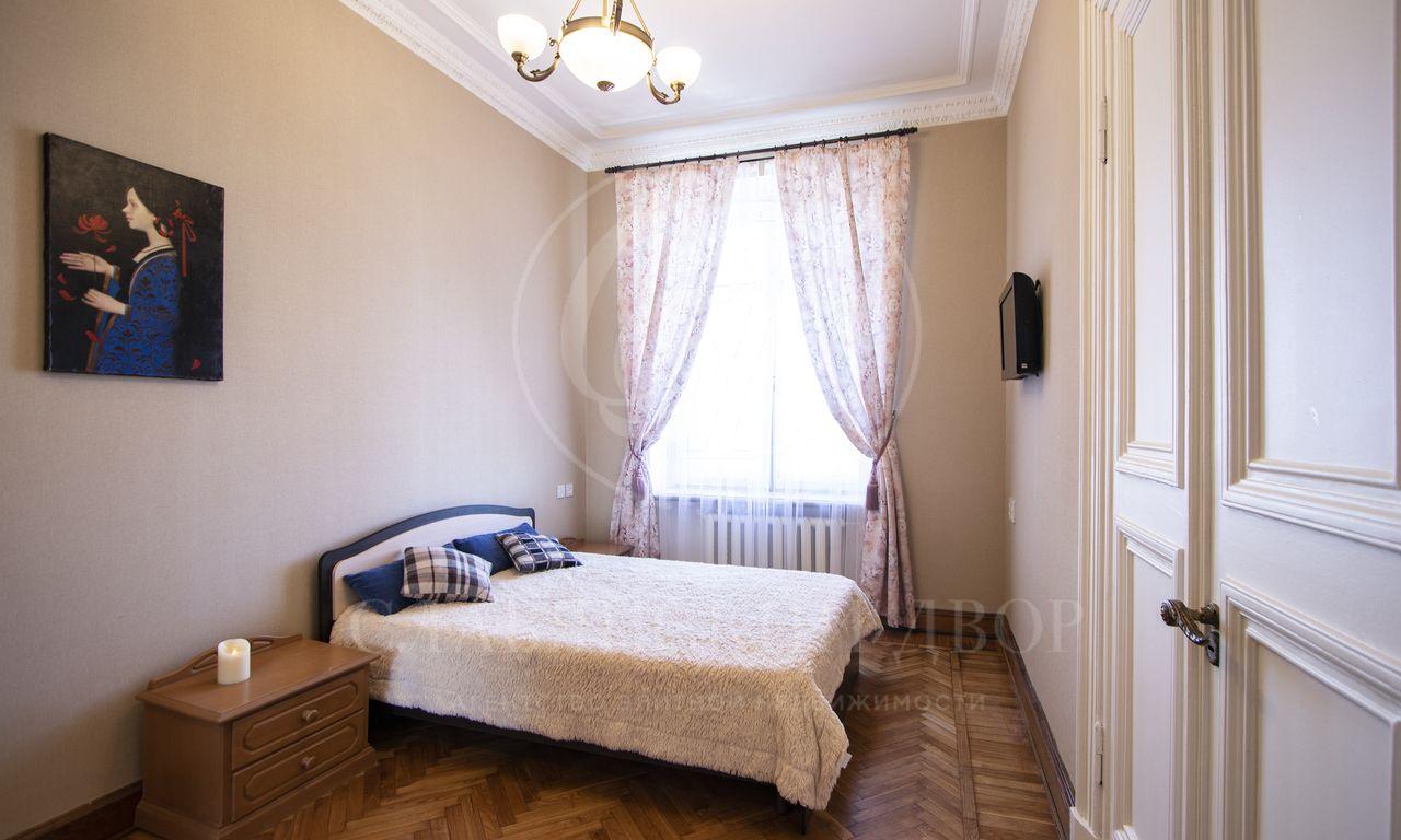 Квартира, скачественным ремонтом, вкоторой сохранены исторические детали