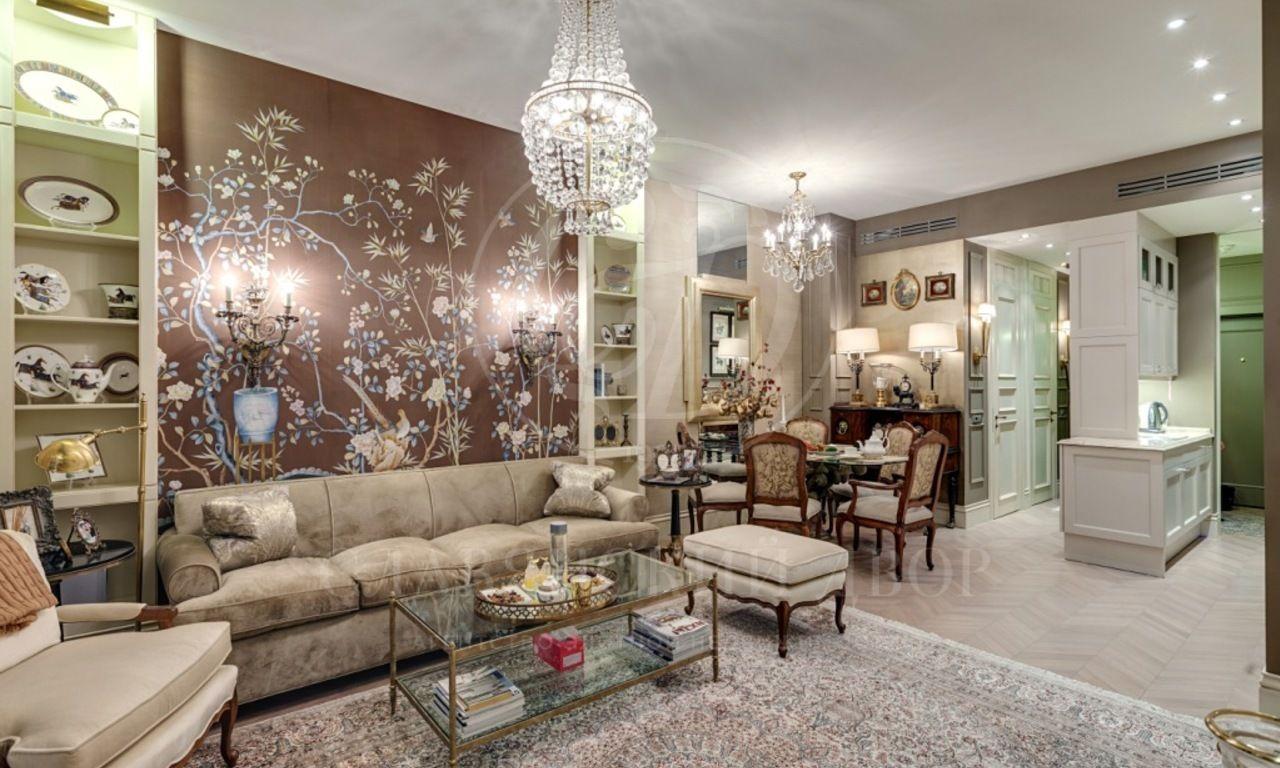 Дизайнерская квартира вЖК «Парк Палас»