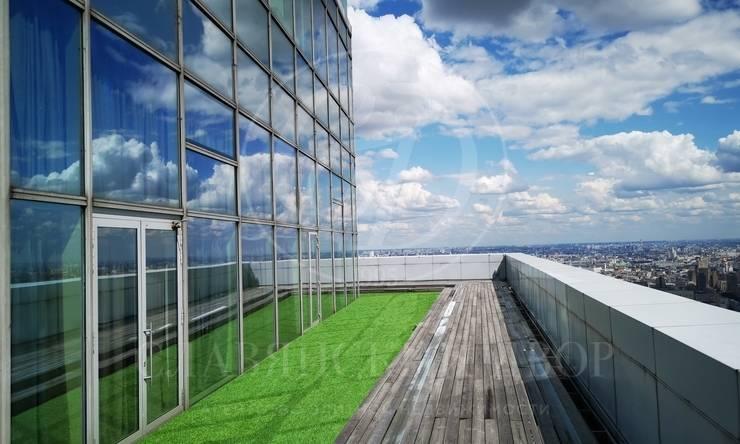 Единственный пентхаус вМосква Сити стеррасой 750 кв.м.обзором на 360 градусов