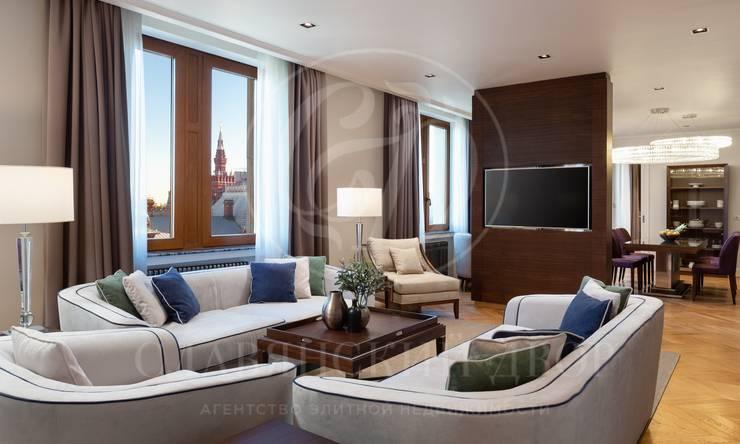 Эксклюзивные апартаменты свидом на Кремль в Residences Moscow