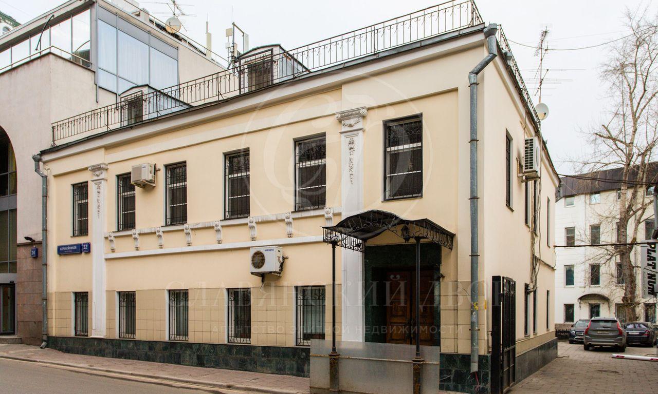 Продажа представительского особняка на Остоженке