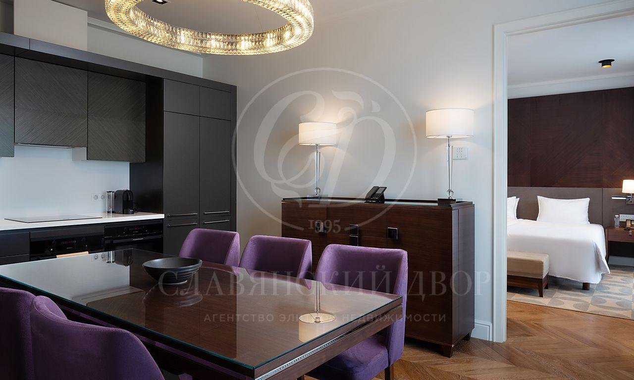 Видовые апартаменты в Residences Moscow