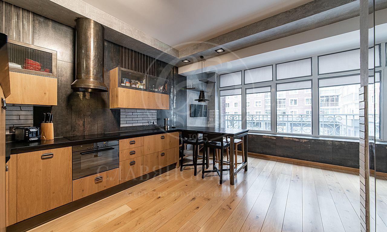 Квартира всовременном стиле вэлитном ЖК «Английский квартал»