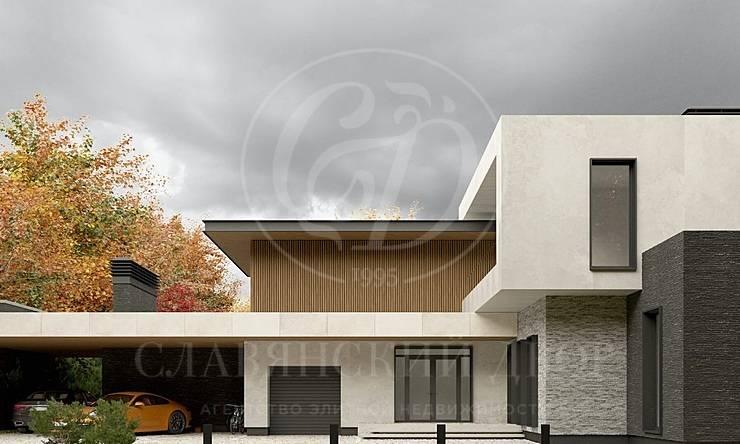 Современный новый дом вРенессанс парк
