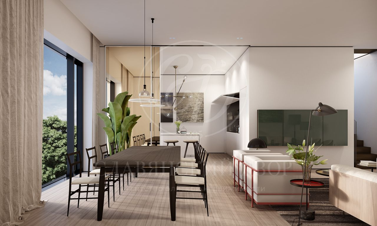 Апартамент сотделкой в ЖК ROZA ROSSA