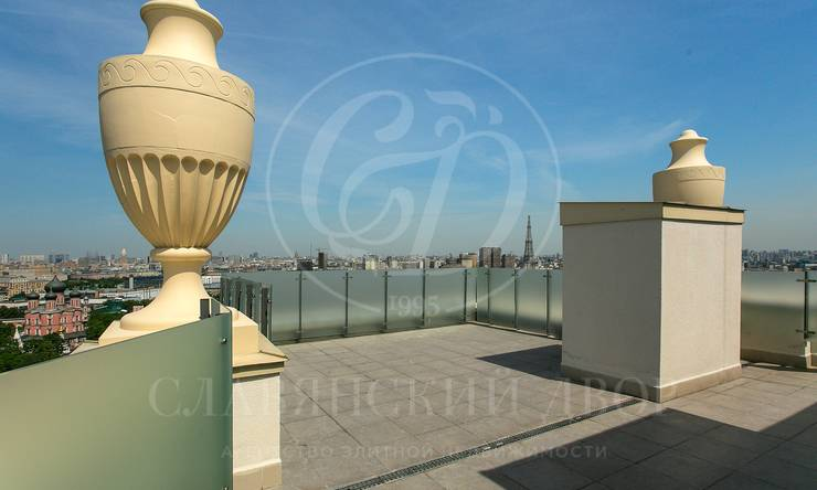 Пентхаус роскошной террасой 130 квадратных метров!