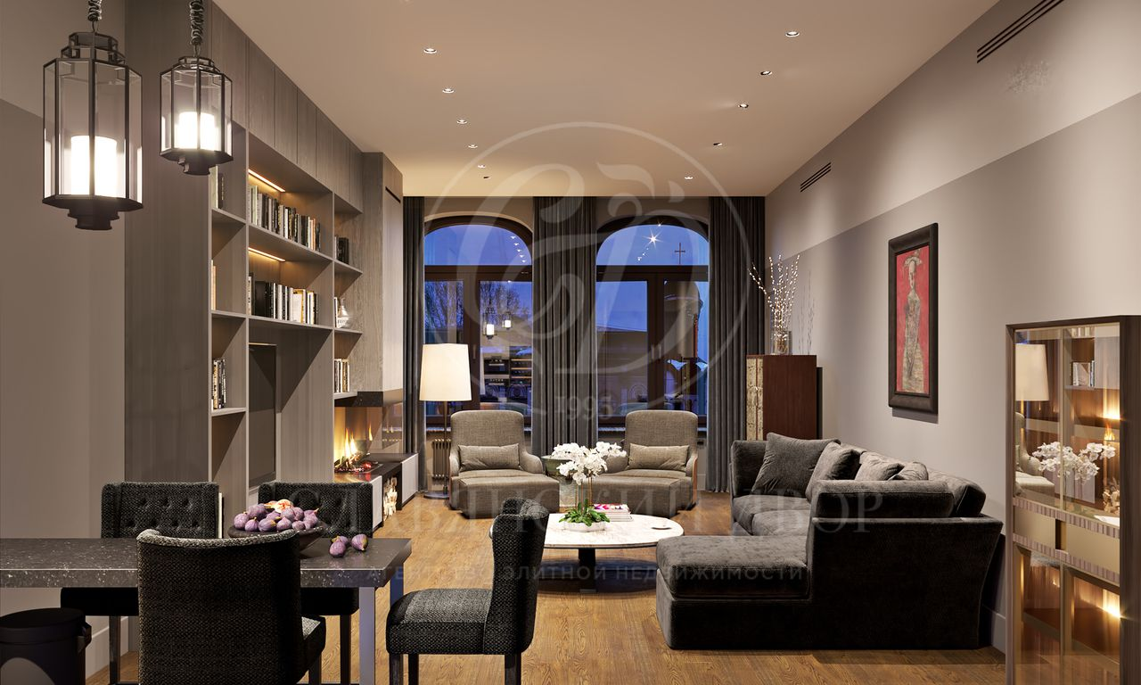 Апартамент под ключ вклубном доме «Mon Cher»
