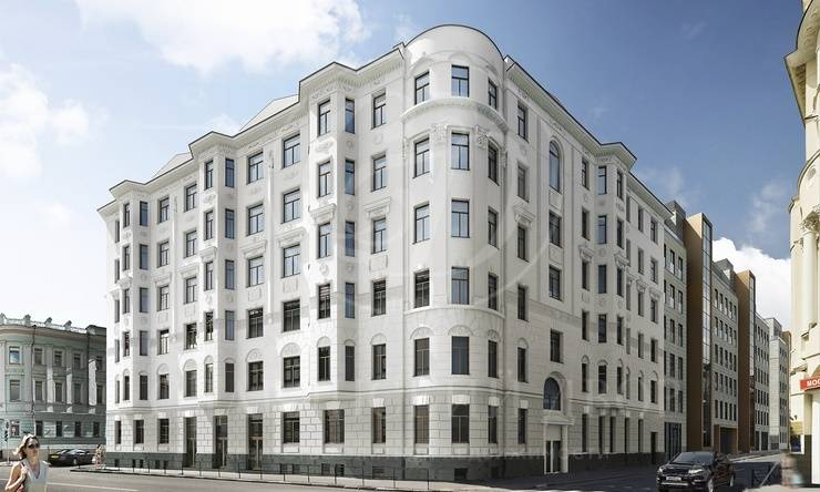 Проект архитектора Густава Гельриха «Полянка 44»