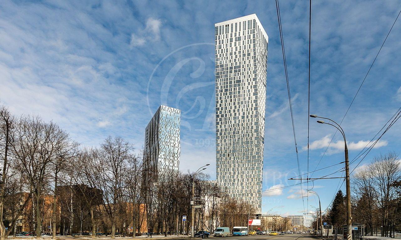 Видовая квартира вДоме на Мосфильмовской