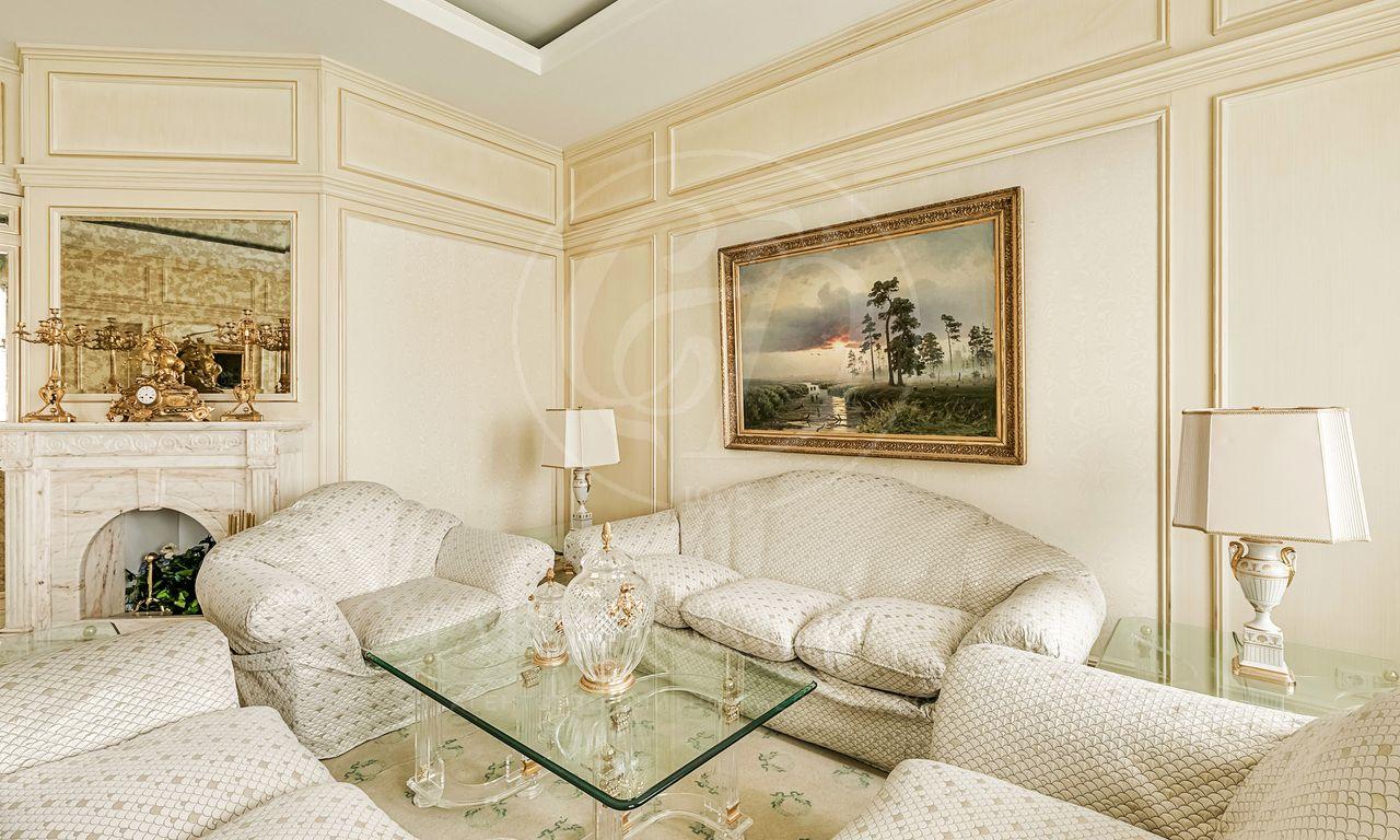 Роскошная квартира висторическом доме вЗамоскворечье