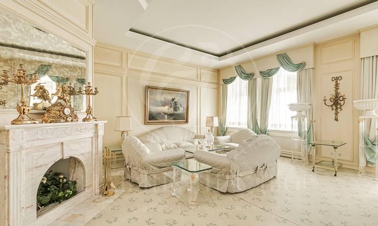 Роскошная квартира встиле современной классики