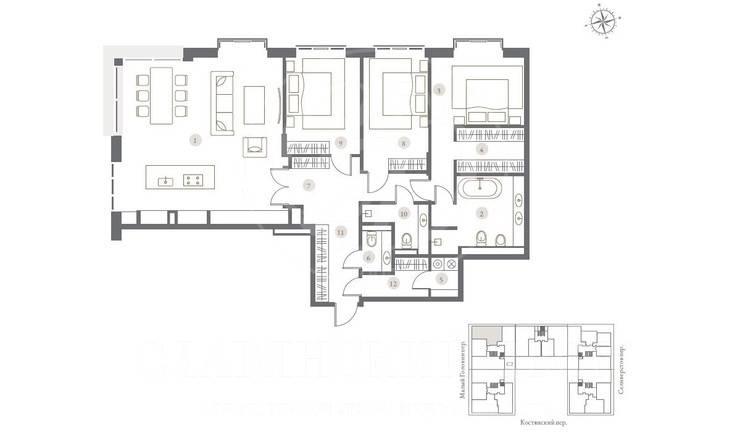 TURGENEV — новый клубный дом премиум-класса