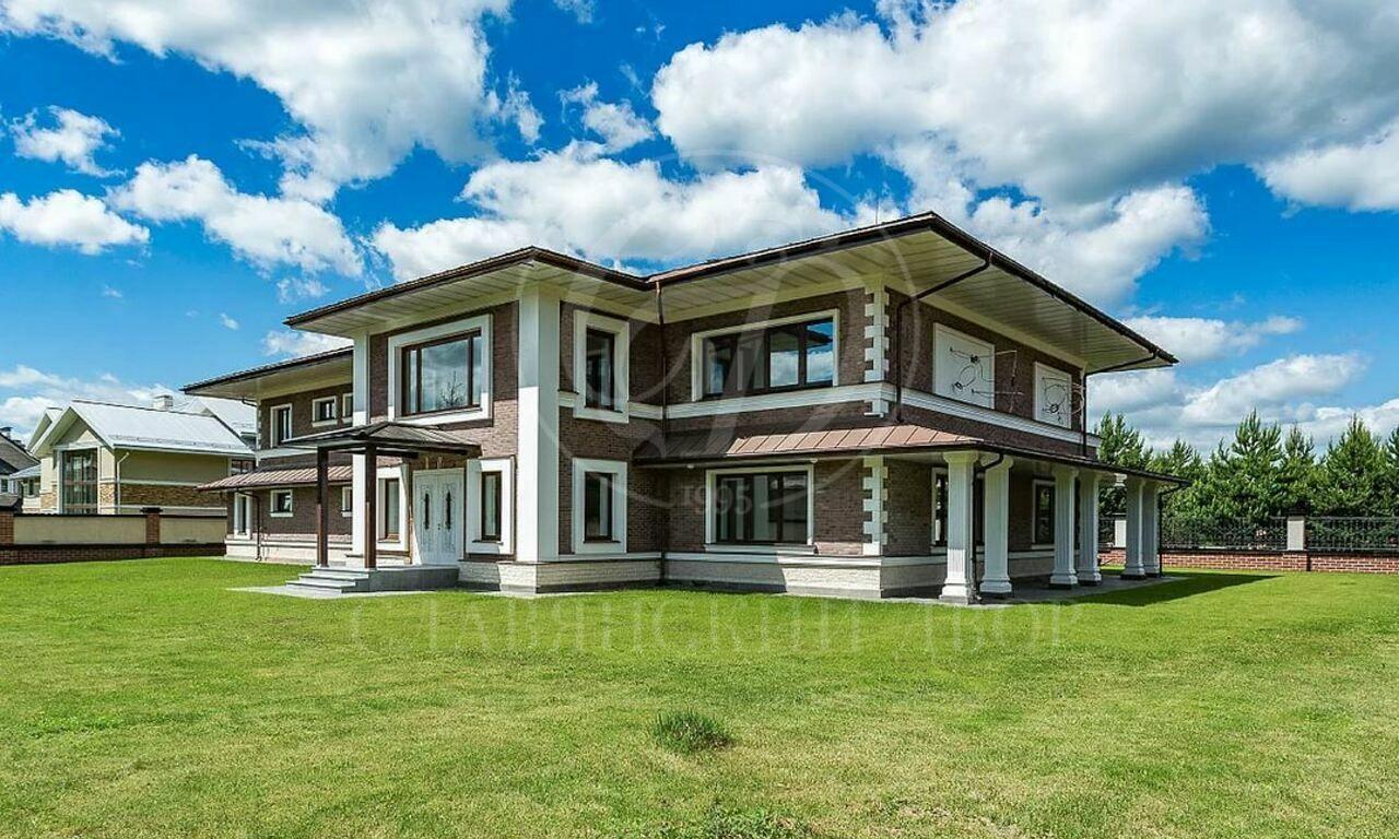 Дом всовременном стиле вАзарово! Развитая инфраструктура!