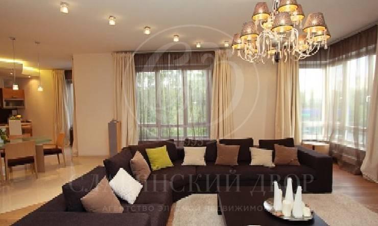 Представительские апартаменты класса de luxe взнаменитом элитном жилом комплексе «Воробьевы Горы»!