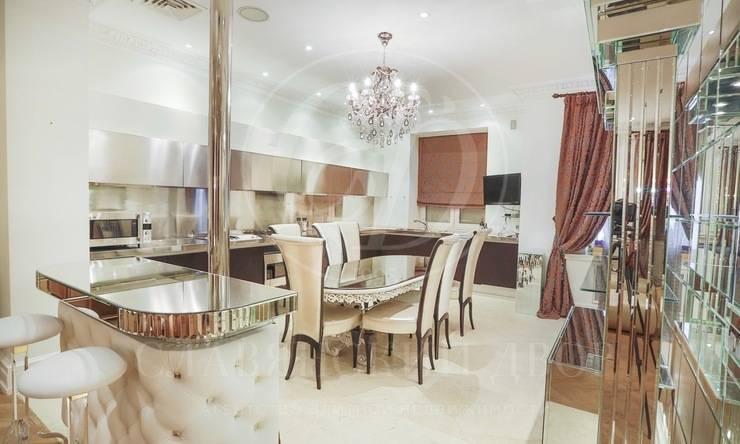 Предлагается стильная, двухуровневая квартира встиле «Арт Деко»