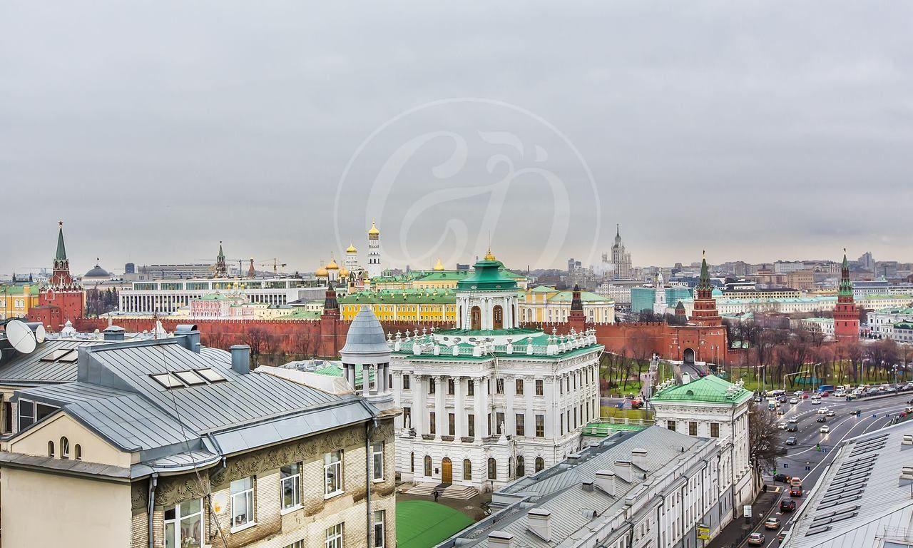 Трехуровневая квартира всамом центре Москвы!