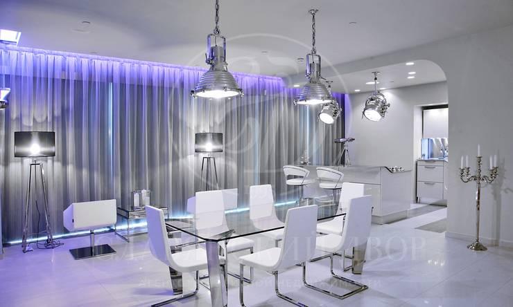 Дизайнерский апартамент свидом на Москву реку