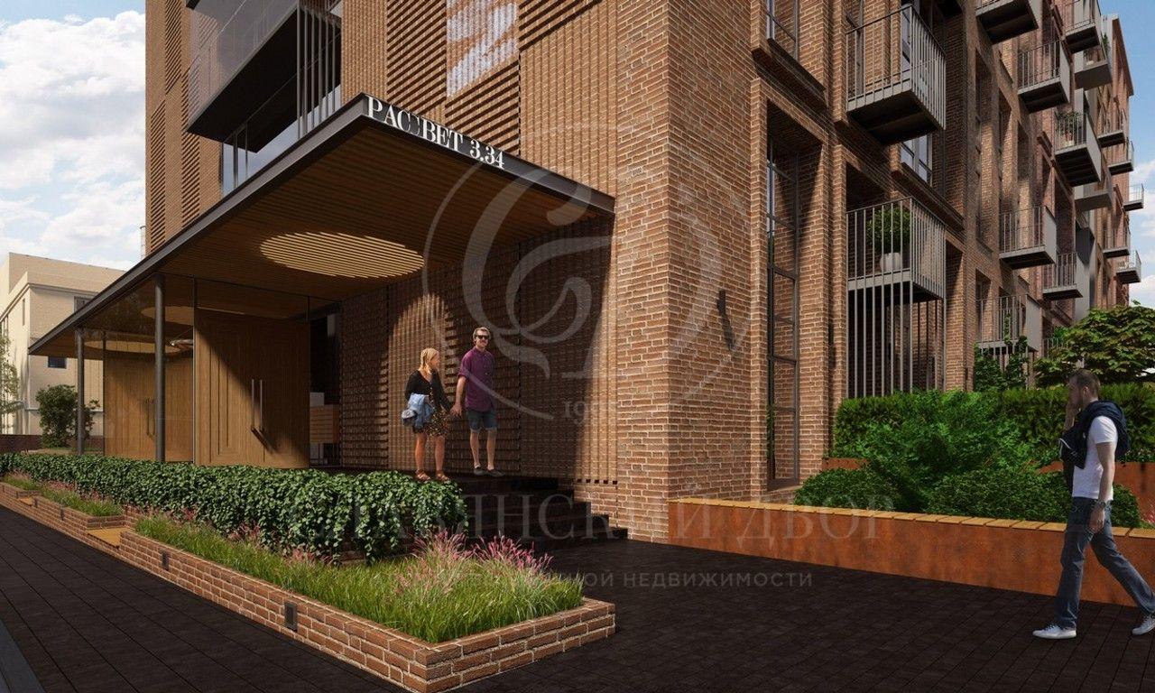 Лофт апартаменты вновом клубном комплексе «Рассвет Loft*Studio»