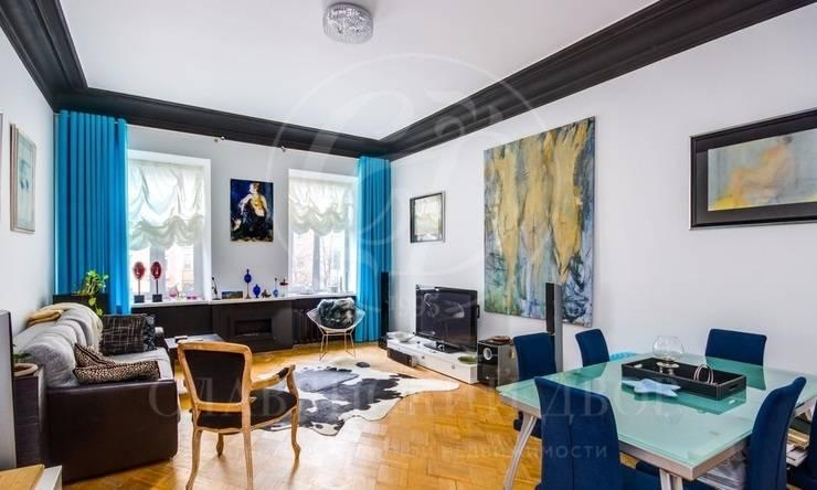 Красивая квартира вособняке после реконструкции на Арбате