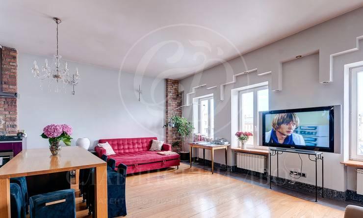 Стильная квартира вреконструированном особняке