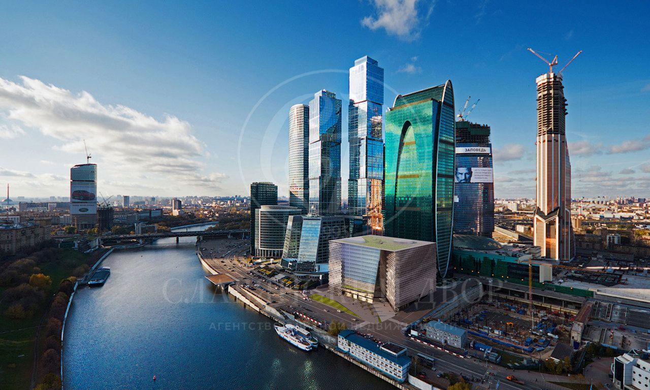 Апартаменты вбашне Санкт-Петербург МФК «Город Столиц» свидом на город