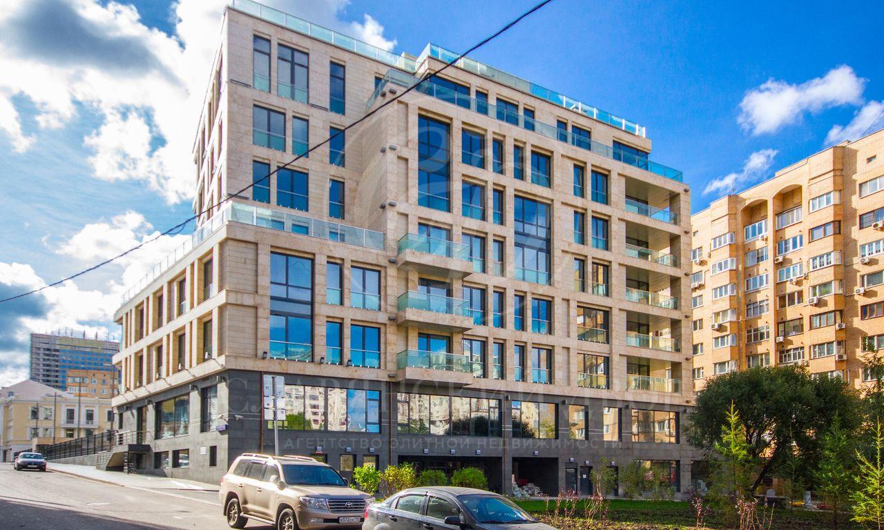 Квартира без отделки вэлитном комплексе «Smolenskiy De Luxe»