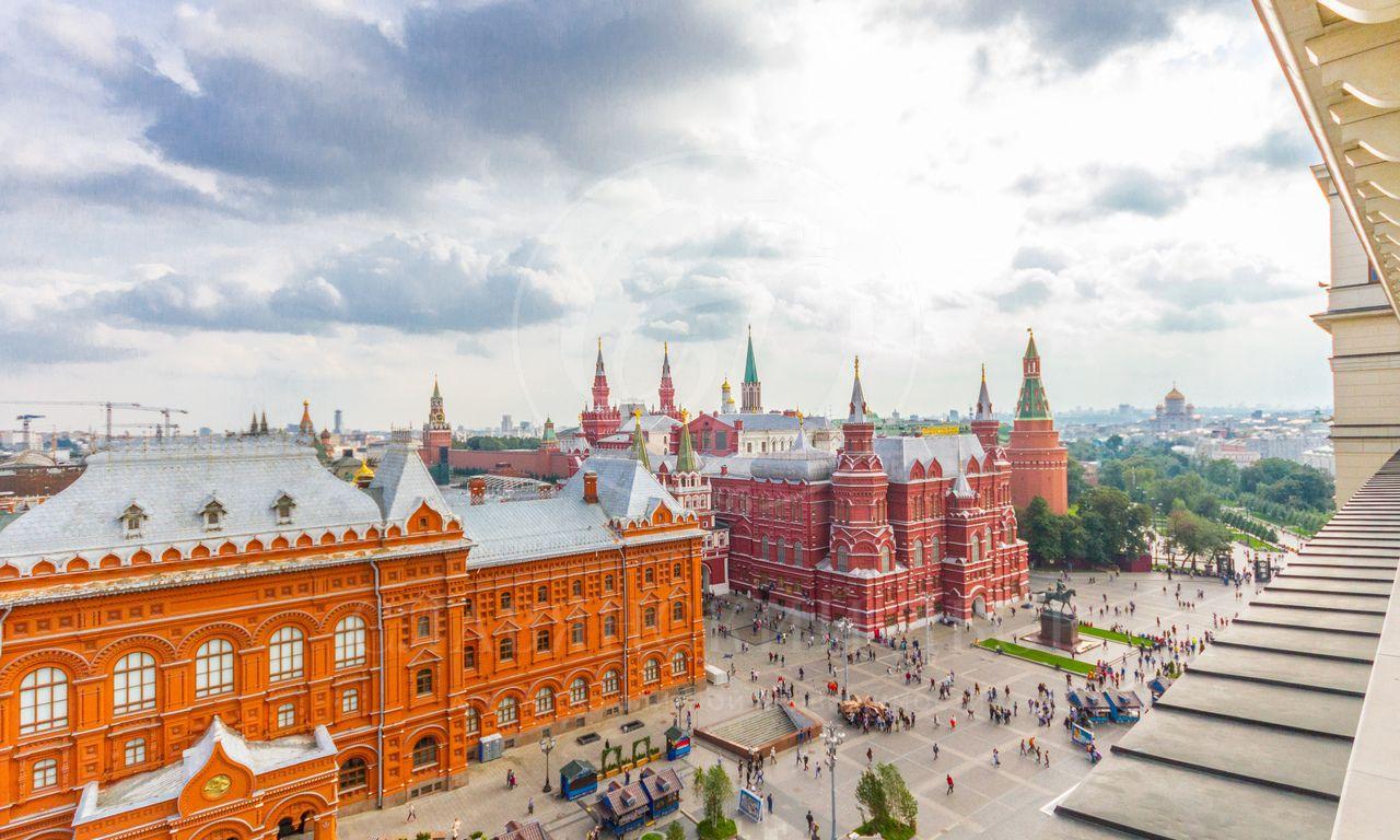 видовой апартамент вГостинице Москва