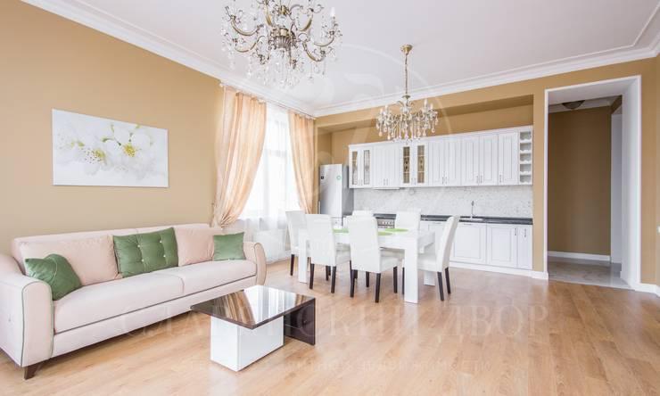 Двухуровневая квартира стеррасой вживописном районе Сколково